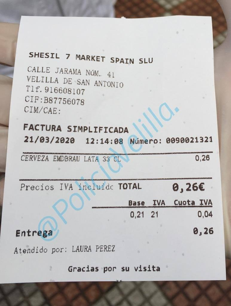 """2000 euros por merodear por la calle y decir que iba """"a comprar Nocilla"""""""