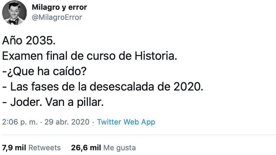 La asignatura de historia dentro de unos años va a ser un cachondeo