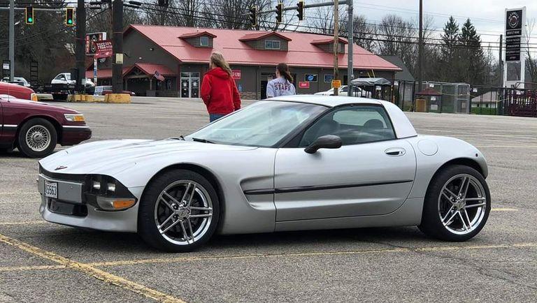 Así se destroza un Corvette C5