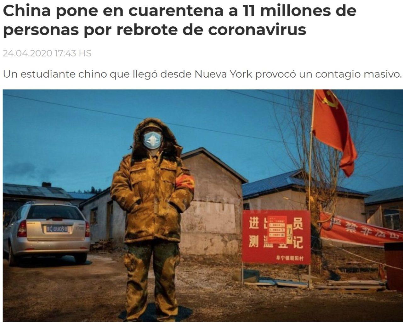 Mientras Alemania se prepara para la segunda ola, y China vuelve a poner en cuarentena a millones de personas, en Madrid...