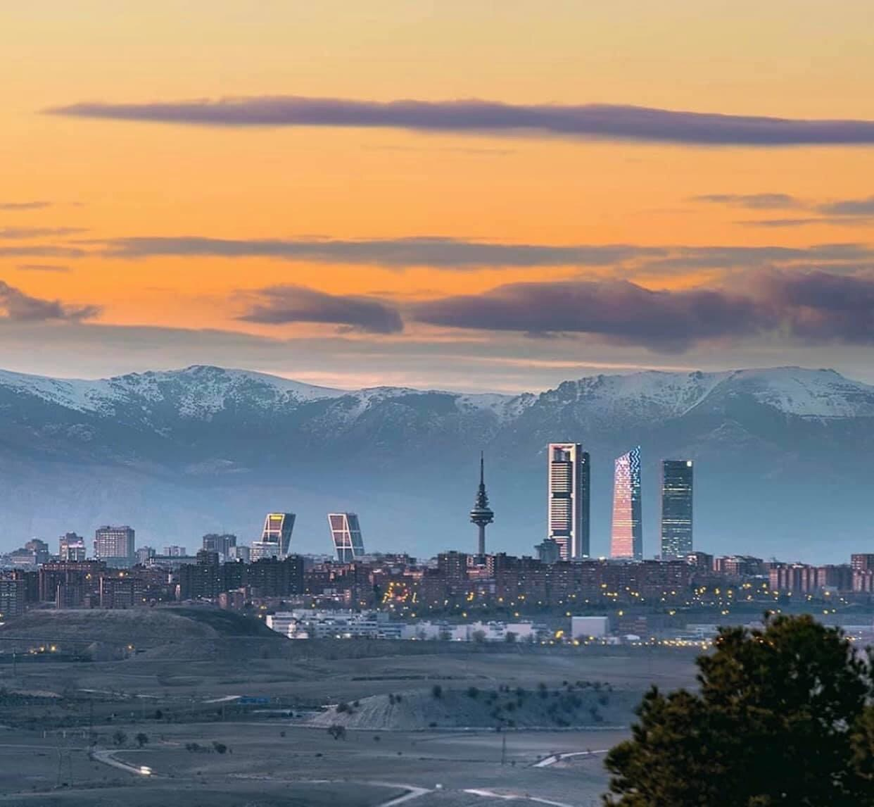 Es curioso... hasta la siguiente pandemia no vamos a volver a ver Madrid así
