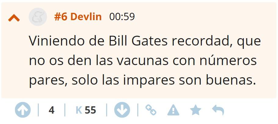 """Bill Gates financia 7 fábricas que buscan posibles """"coronavacunas"""" para quedarse la mejor y ahorrar tiempo"""
