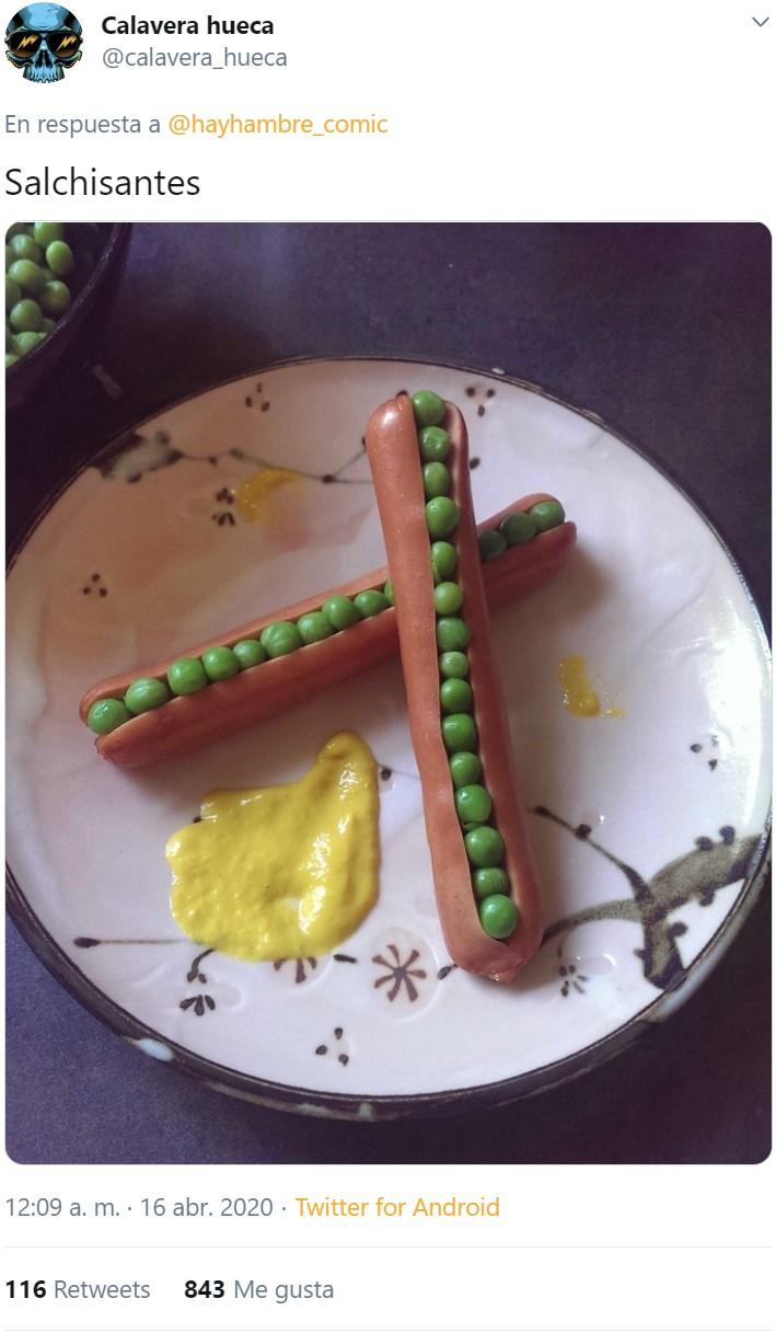 Cuando vives solo y decides darte un homenaje culinario