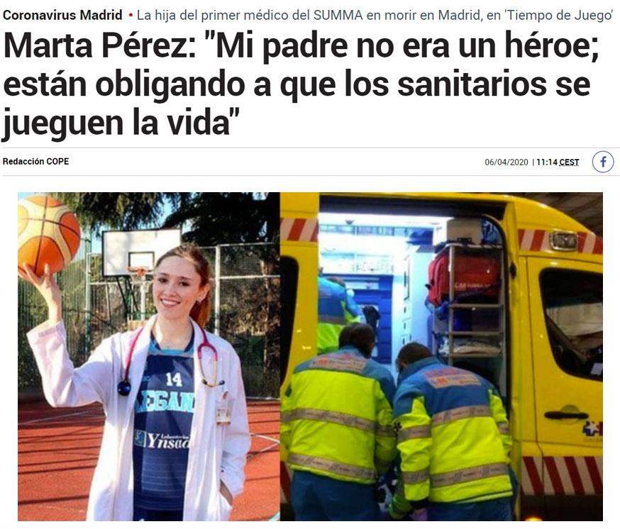 El mejor sistema sanitario no, los médicos más entregados del mundo