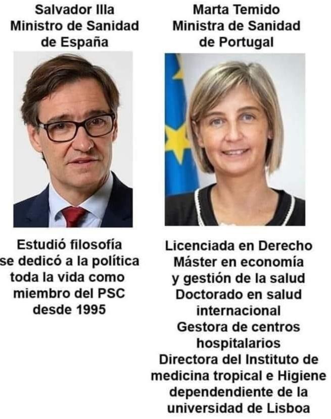 ¿A alguien le sorprende que España tenga las peores cifras del mundo por millón de habitantes, y que nuestros vecinos de Portugal lo hayan hecho mucho mejor?