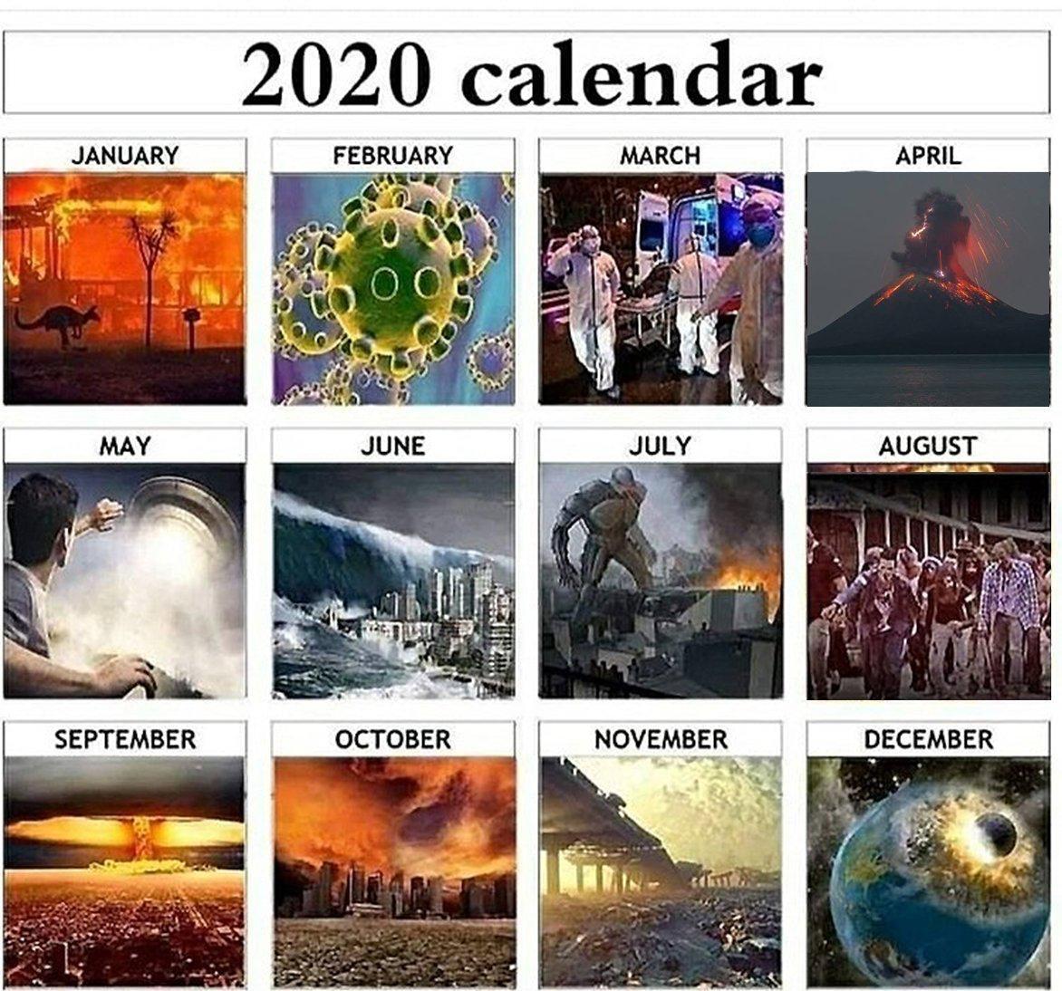Bueno, pues ya se ha filtrado el calendario completo de desastres para 2020