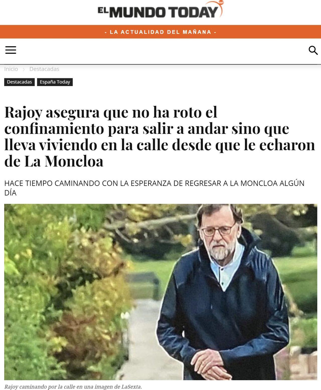 Rajoy quédate en casa kvron