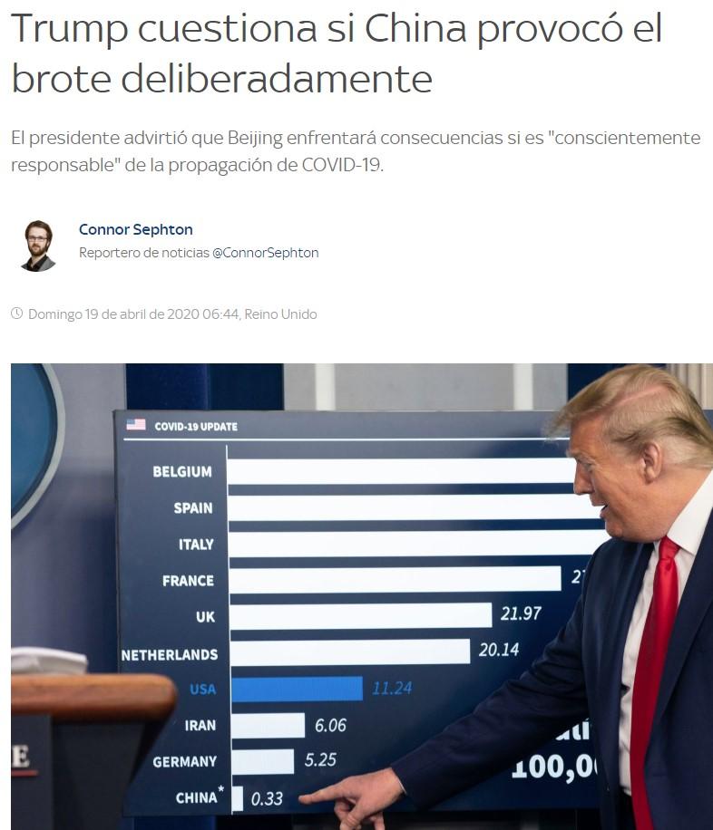 Segundo globo sonda de Trump