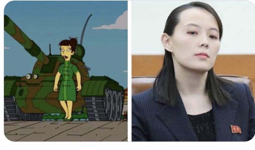 Kim Yo-Jong, calienta que sales