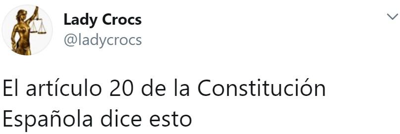 La constitución también dice que somos iguales ante la ley sin importar género, y que tenemos presunción de inocencia...