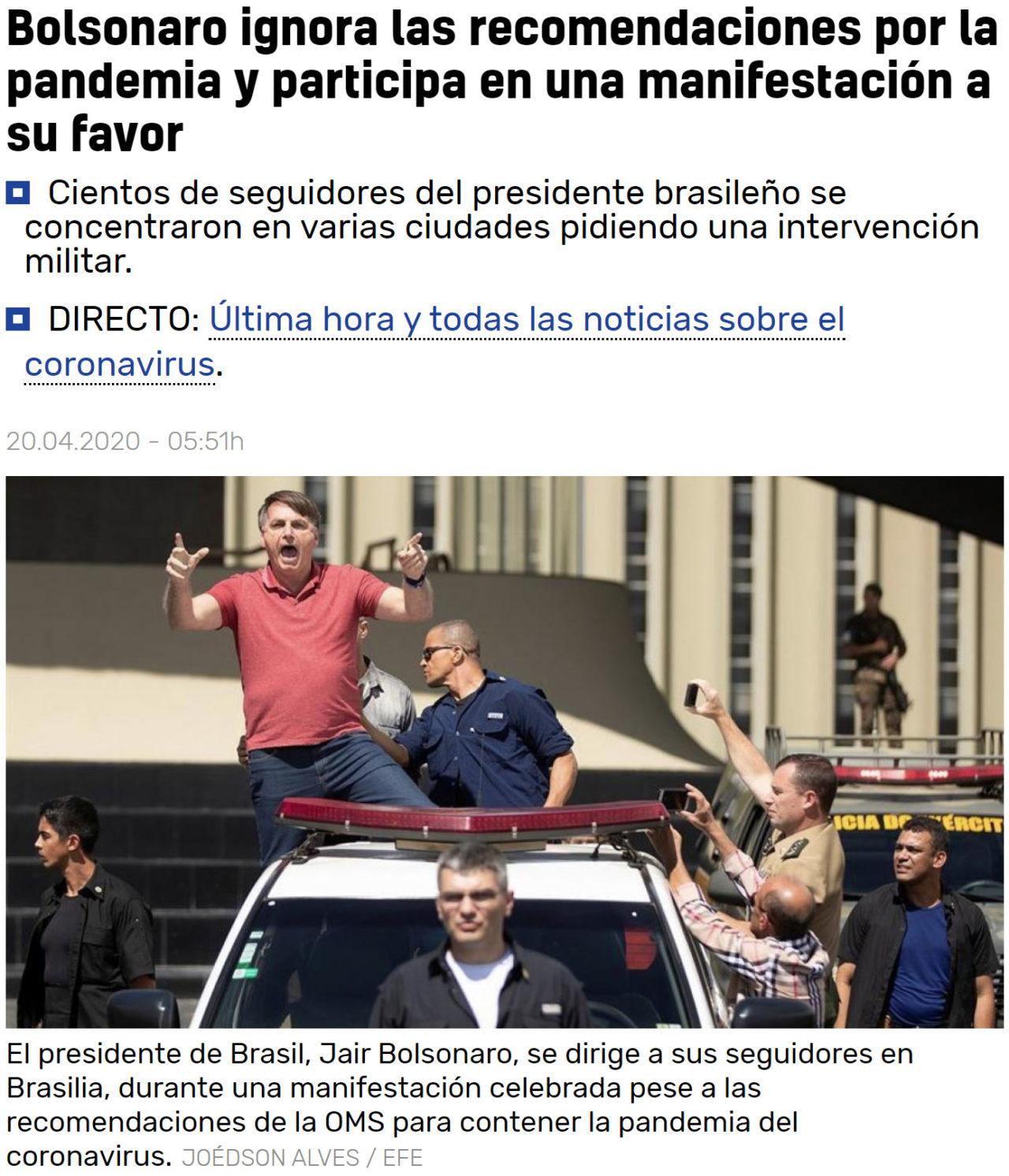 Never go full Bolsonaro