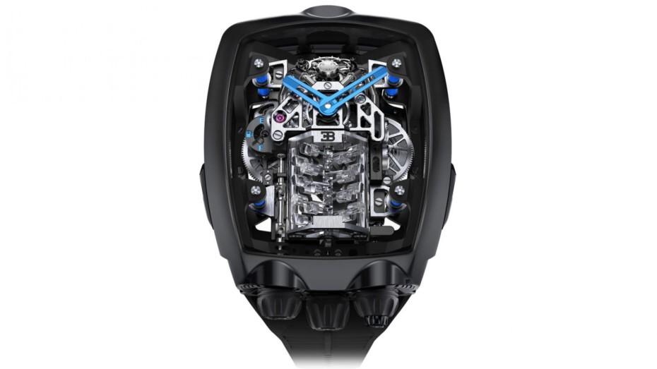 Ya puedes tener el motor de un Bugatti Chiron en tu muñeca por el precio de un Huracán Evo: un cuarto de millón.