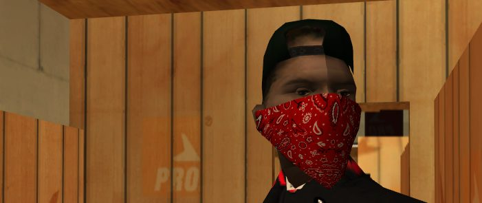Si vivís en Los Ángeles o Chicago... no le hagáis caso al Dr. Oz, las bandanas rojas usadas como mascarilla no son una buena idea...