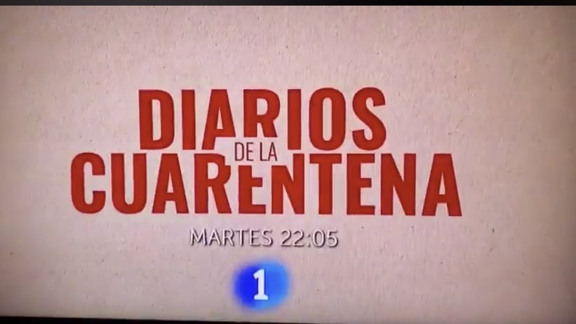 """RTVE lanza el lunes una comedia titulada """"Diarios de la Cuarentena"""""""