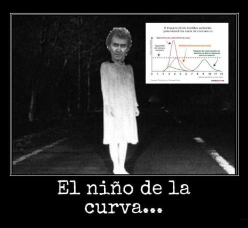 El niño de la curva