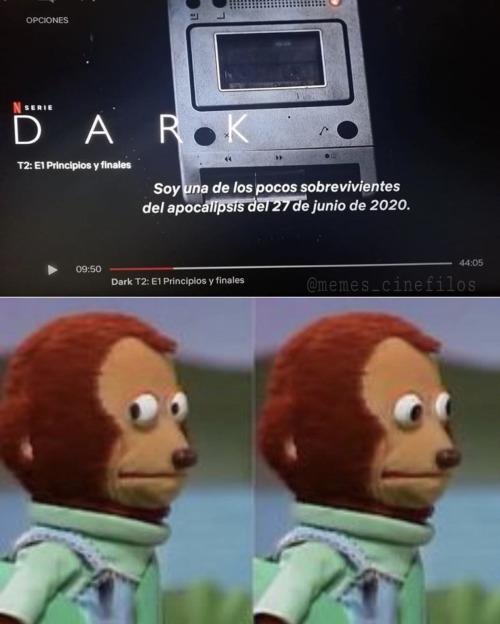 Esperemos que DARK no siga los pasos de Los Simpson...