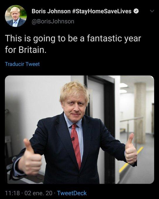 Boris Johnson, predicciones exactas