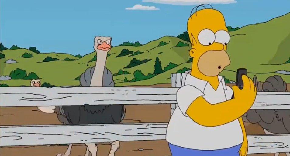 No falla, todo está en los Simpson
