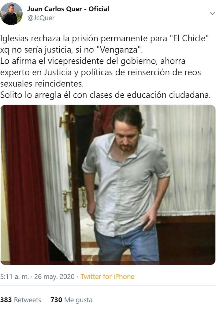 ¿Por qué Juan Carlos Quer, padre de Diana Quer, es Trending Topic?