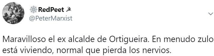 El exalcalde del PP de Ortigueira (A Coruña) protesta con una cacerolada en su modesta casita...