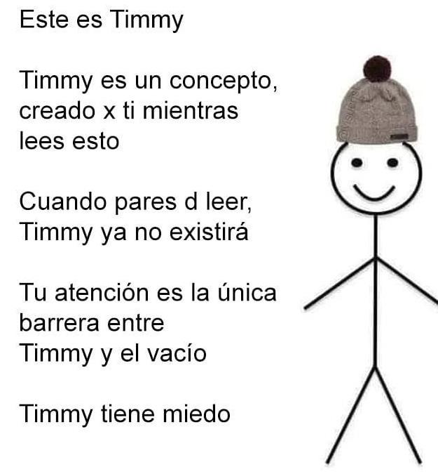 La vida de Timmy es solo un poco más efímera que la tuya