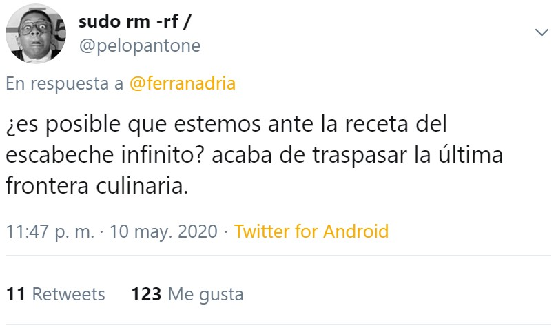 """Ferrán Adriá ha superado a su propia parodia: """"Mejillones con escabeche instantáneo"""""""