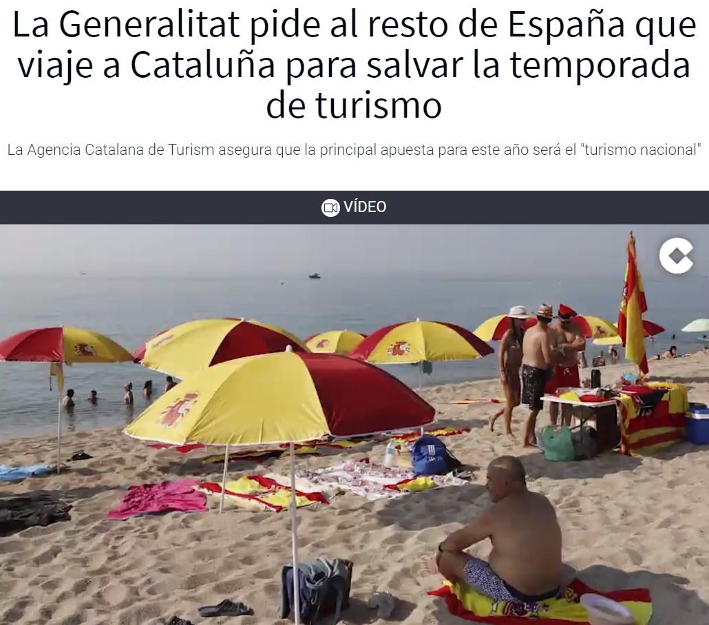 La Generalitat siente un amor renovado por los españoles