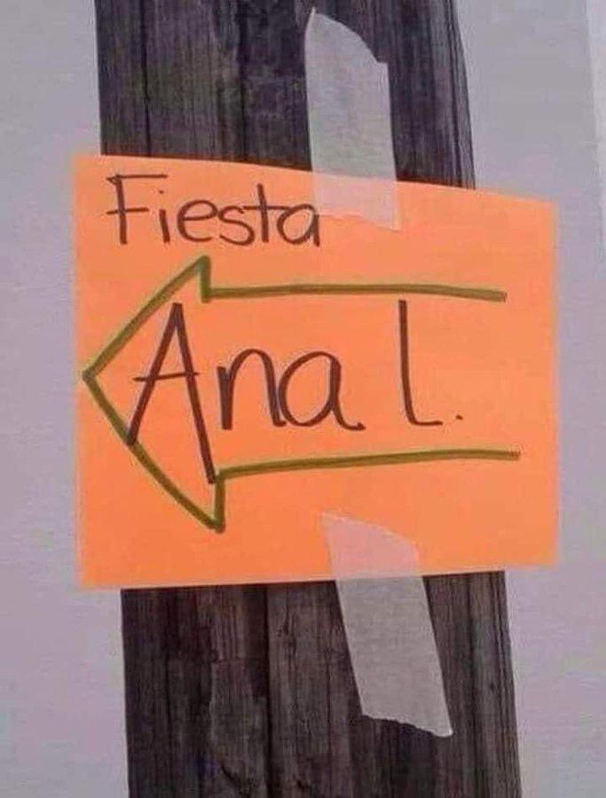 Hubo mucha desilusión en la fiesta de Ana López...
