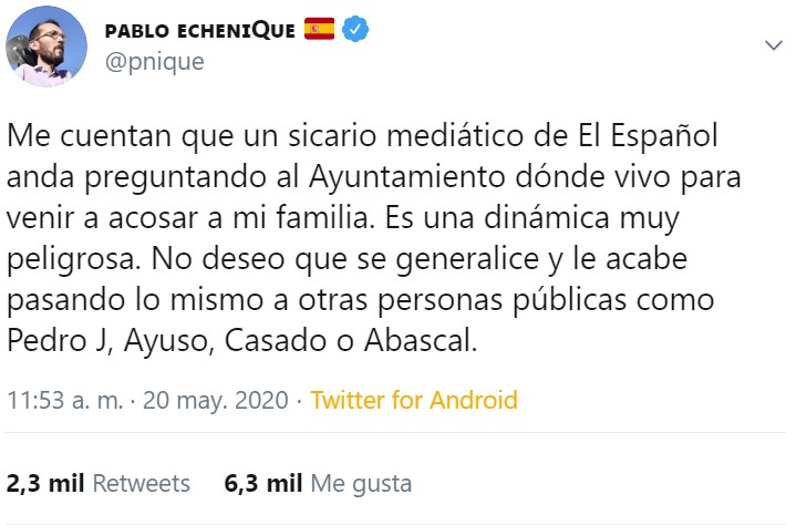 """""""Si quitamos Madrid"""" dice... Y si mi abuela tuviera ruedas sería ministra"""