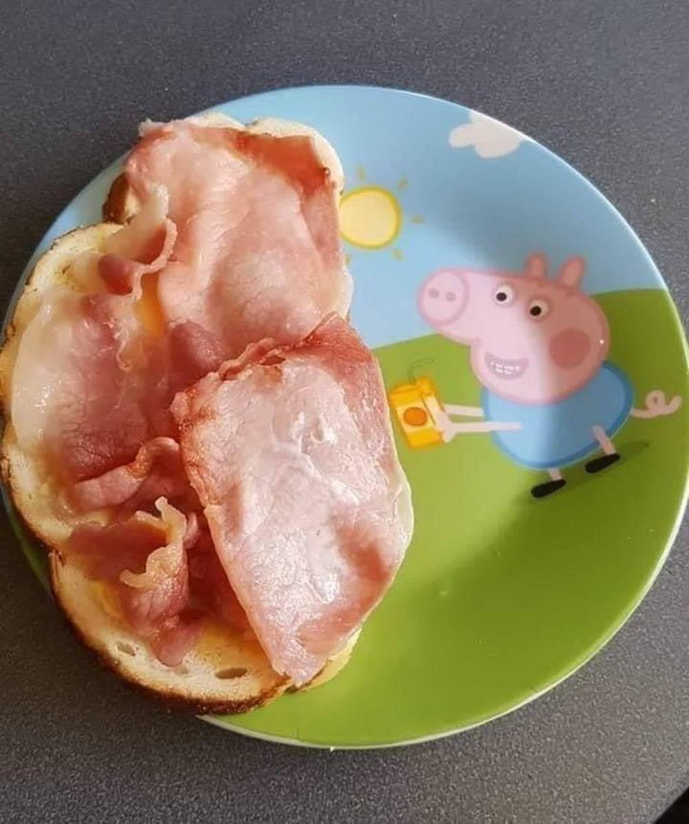 Oh deliciosa Peppa Pig, ojalá estuvieras aquí para poder degustarte...