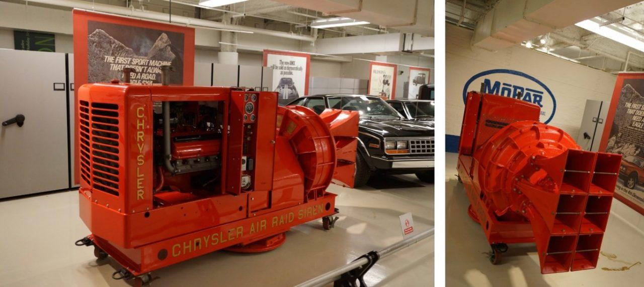 Las sirenas de 3 toneladas basadas en motores V8 americanos que se podían escuchar a más de 40 kilómetros de distancia