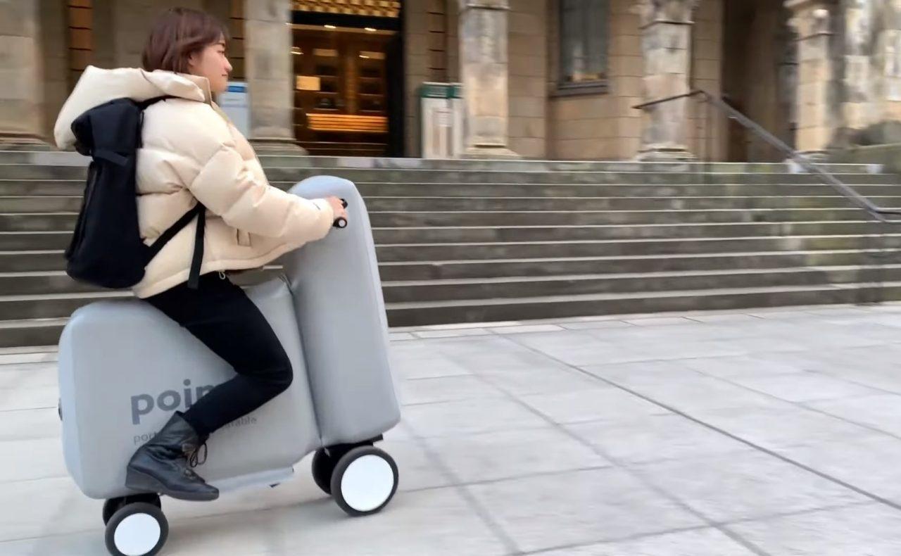 Poimo, la bicicleta eléctrica hinchable
