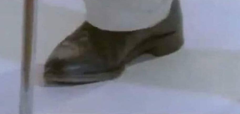 """Mi colega: """"No puedes reconocer a alguien solo viendo su pie"""""""