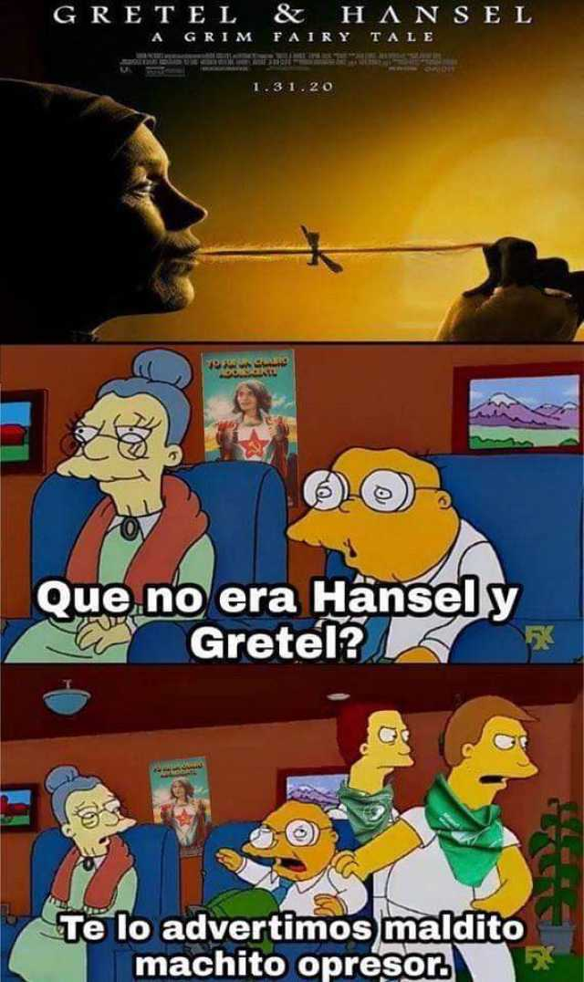 Hansel & Gretel meets feminism