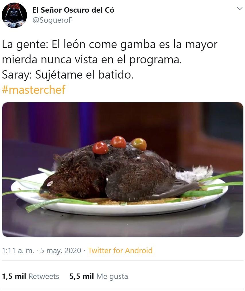 Perdiz al plato by Saray: ¿Hay hambre?