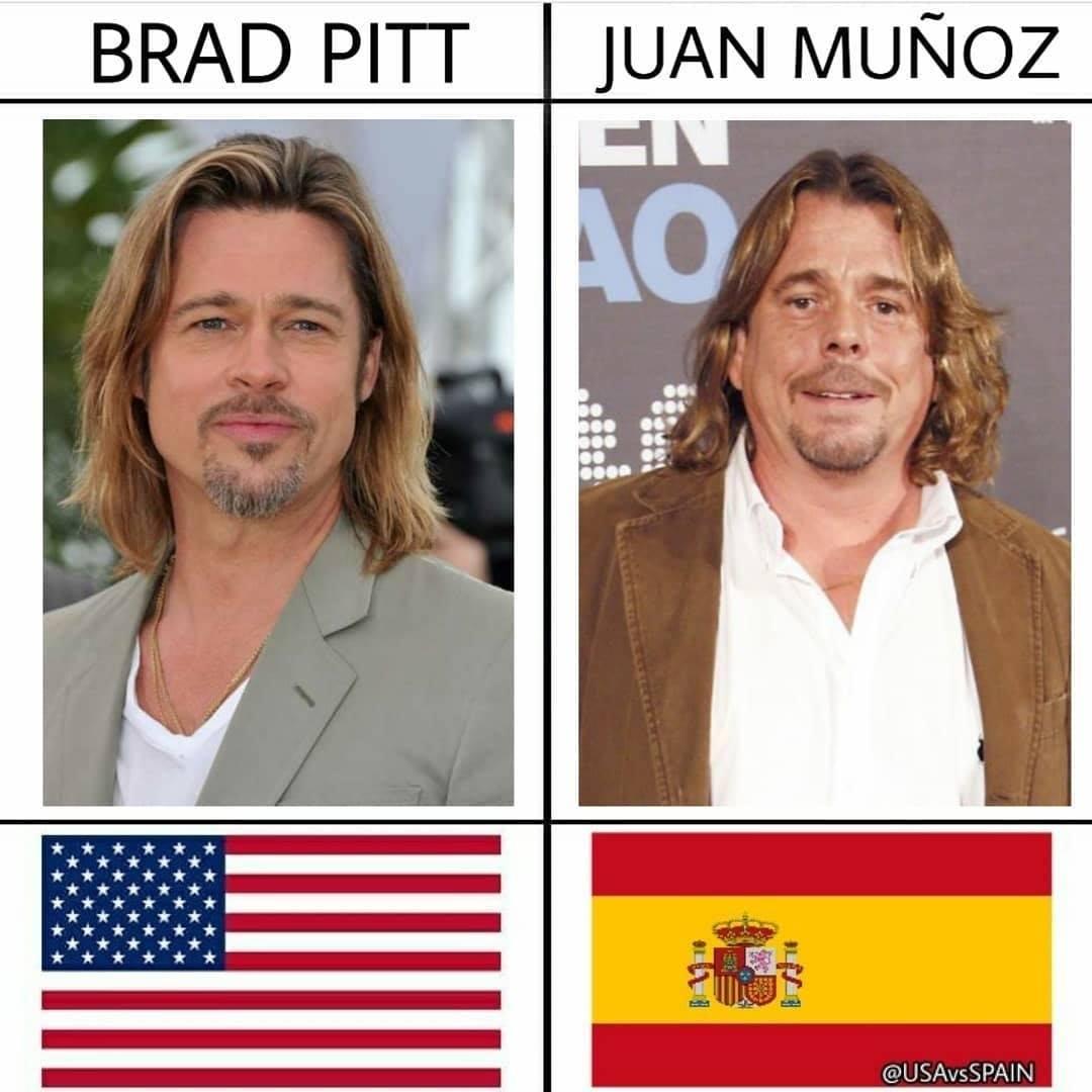USA vs SPAIN: Las versiones españolas de los famosos americanos