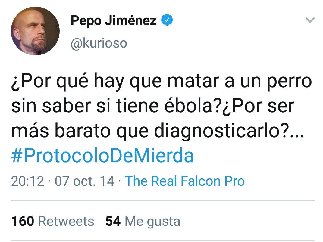 Que alguien le diga a Pepo que Fernando Simón estaba al frente con lo del perro también...