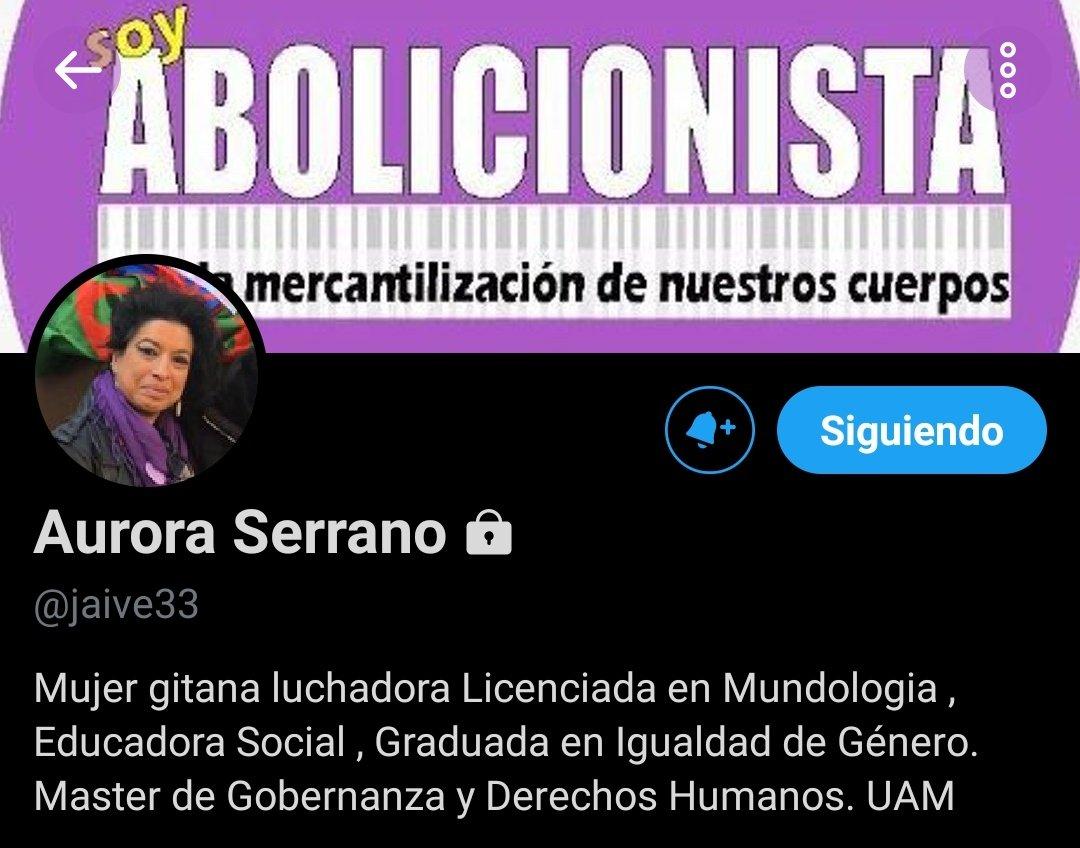 Aurora Serrano, Licenciada en Mundología, con un máster en ortografía creativa