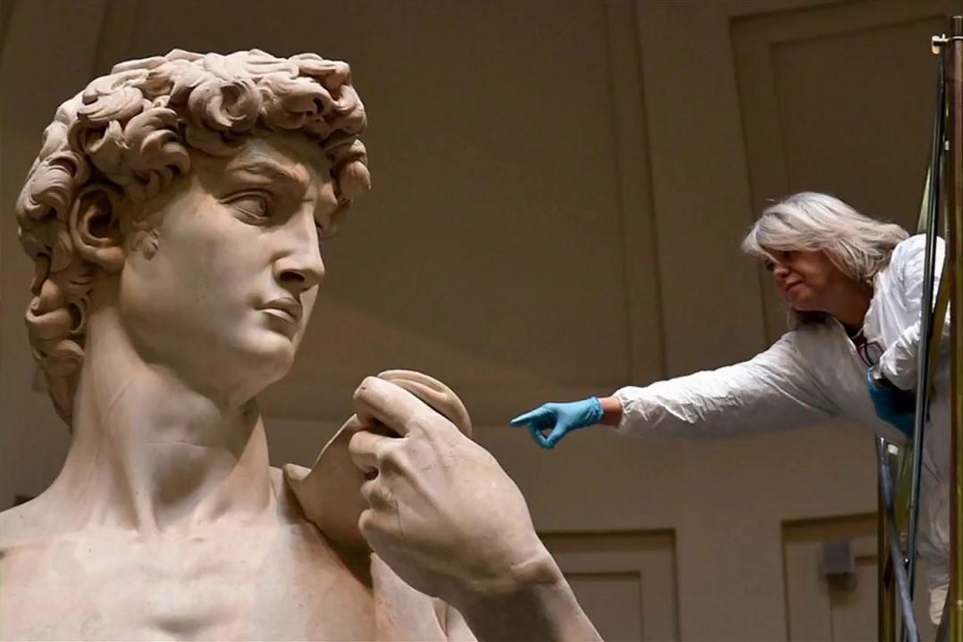El tamaño del 'David' de Miguel Ángel es mayor de lo que mucha gente cree....