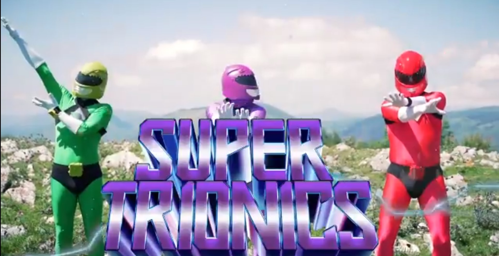 """Podemos Euskadi lanza un vídeo demigrante con una copia hacendado de los Power Rangers para atacar a """"Urkutron""""."""