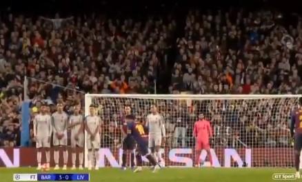 El espectacular gol nº600 de Messi
