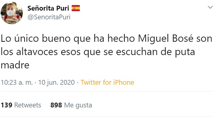 Miguel Bosé le está dando a las escamas de sapo