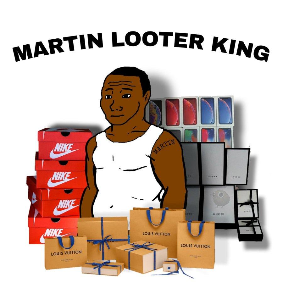 Mientras los <del>looters</del> loosers españoles saquean Aldis, en EEUU los maleantes tienen mejor gusto