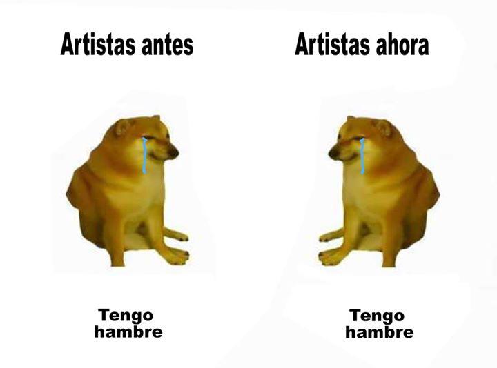 El arte es morirte de... hambre