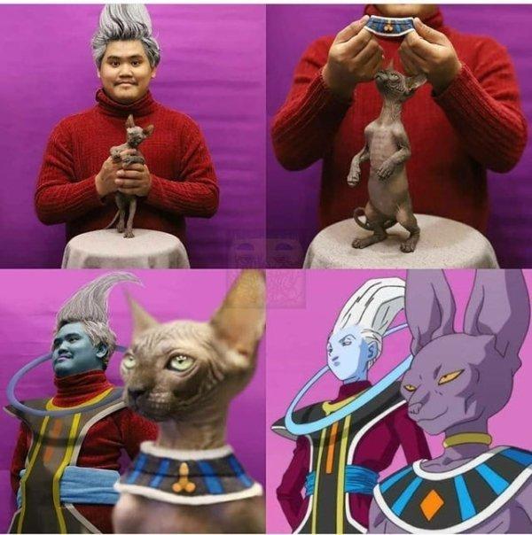 La capacidad de este señor para crear cosplays cutres no conoce límites