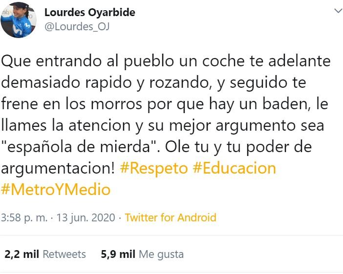 """Llama """"española de mierda"""" a la campeona española de ciclismo por llevar un maillot con la bandera"""