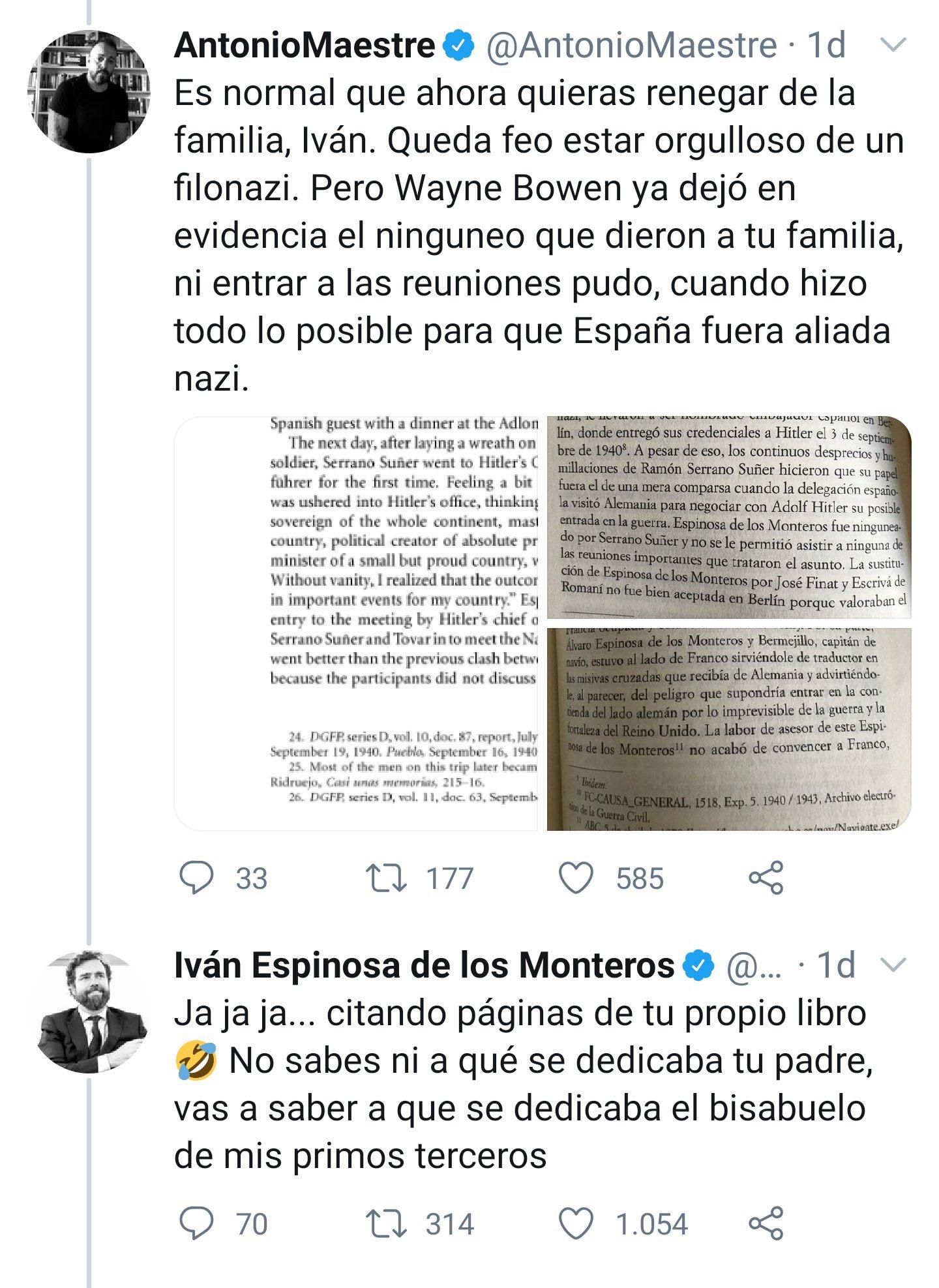 Antonio Maestre el historiador