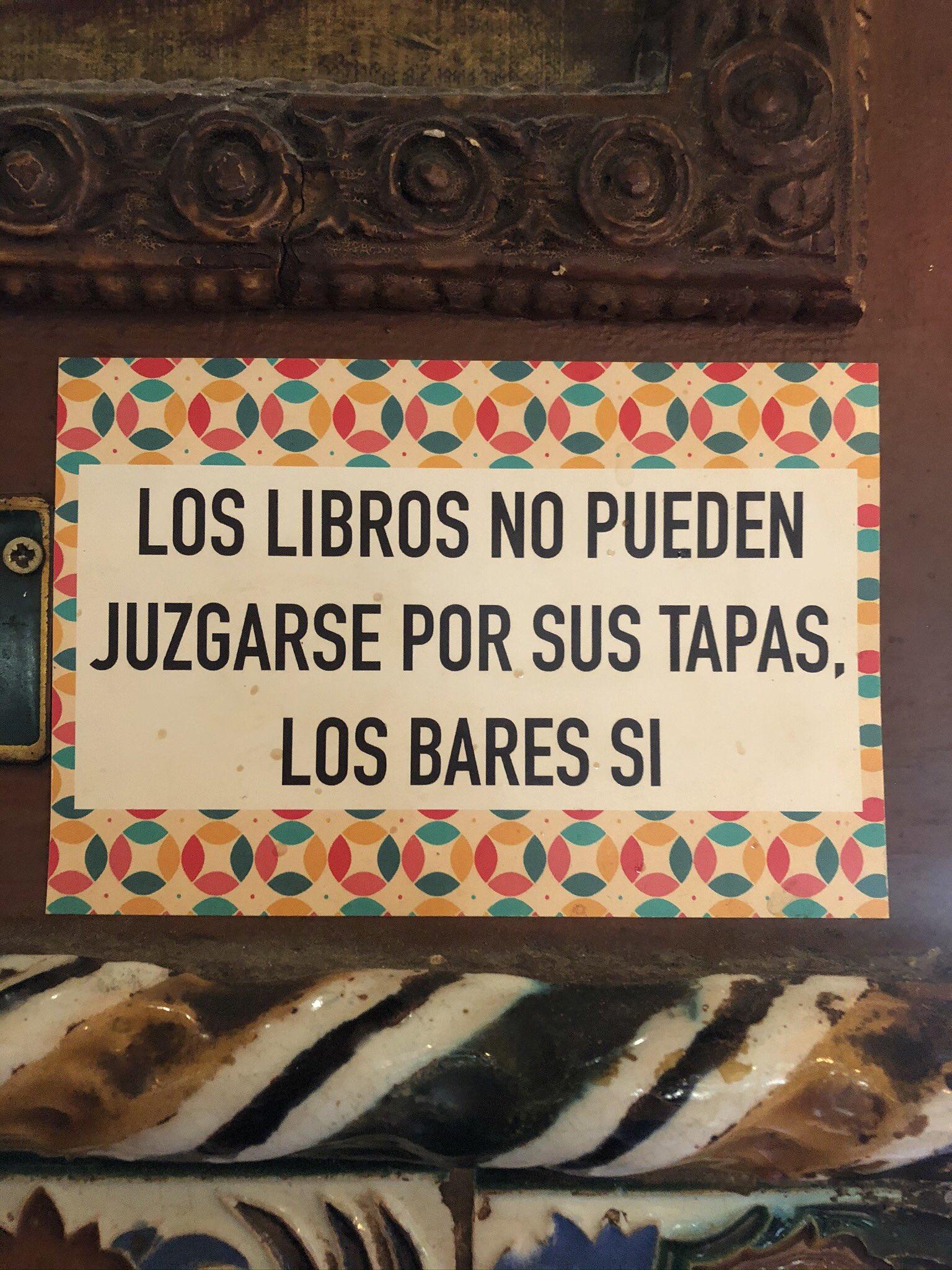 Sabiduría de bar