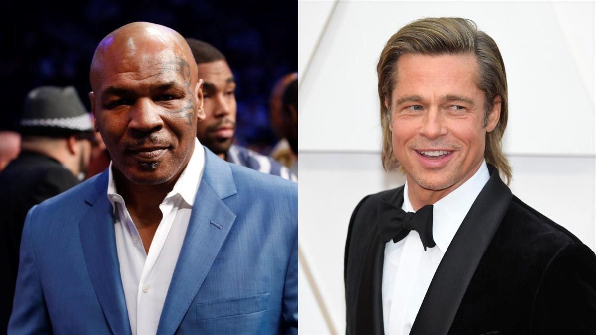 Mike Tyson rememora cuando pilló a su exmujer en la cama con Brad Pitt
