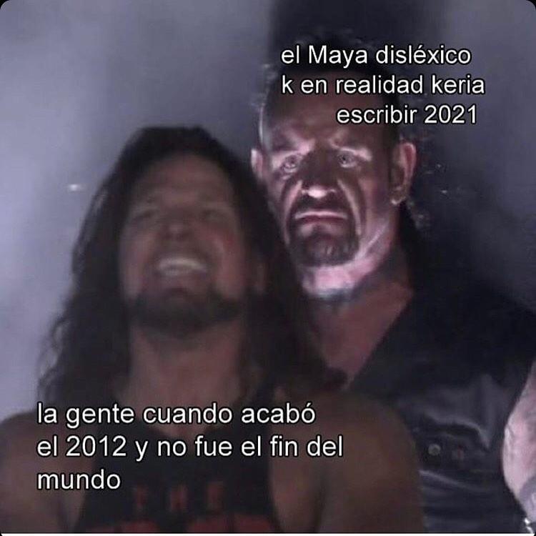 El fin del mundo no era en 2012, era en 2021...